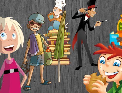 Ilustraciones para libros de primaria